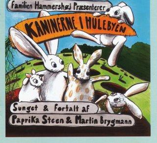 Hør kaninernes surmulesang med Martin Brygmann og Paprika Steen skrevet af Henny og Karsten Hammershøj